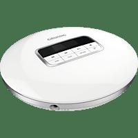 GRUNDIG GCDP 8000 Tragbarer CD-Player Weiß