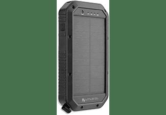 4SMARTS Powerbank Titanpack Solar QI 20.000 mAh schwarz