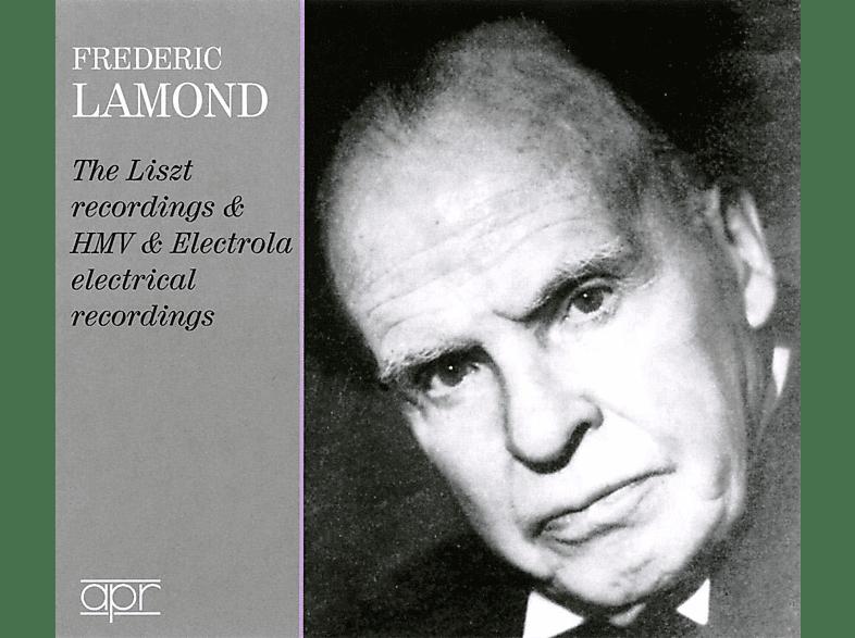 Frederic Lamond - Die Liszt-,HMV und Electrola-Aufnahmen für Reprod [CD]