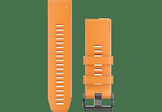 GARMIN Silikonarmband QuickFit Titan 26 für Fenix 5X, orange (010-12741-03)