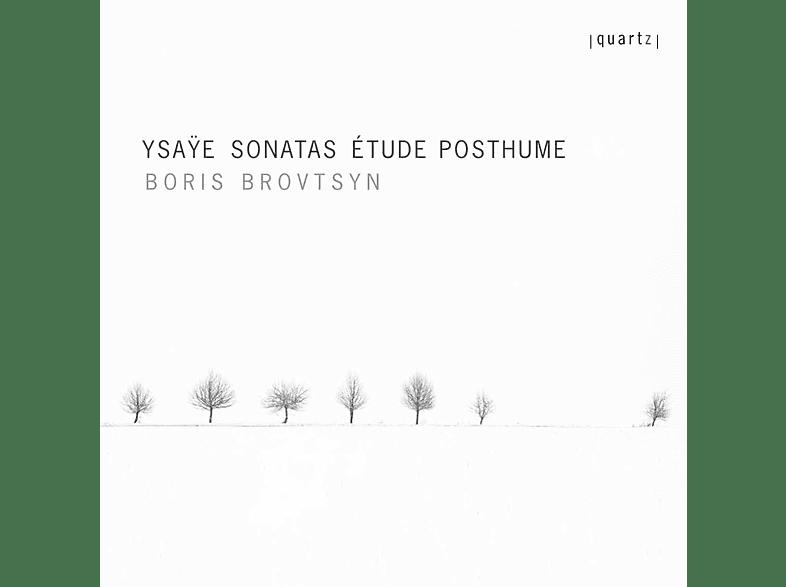 Boris Brovtsyn - Sonaten/Étude posthume [CD]