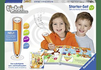 RAVENSBURGER Starter-Set: Stift und Wörter-Bilderbuch tiptoi Stift Mehrfarbig