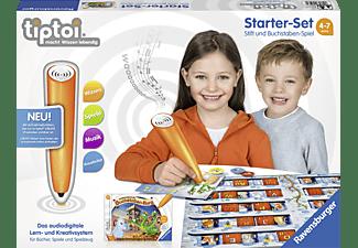 RAVENSBURGER Starter-Set: Stift und Buchstaben-Spiel tiptoi Stift Mehrfarbig