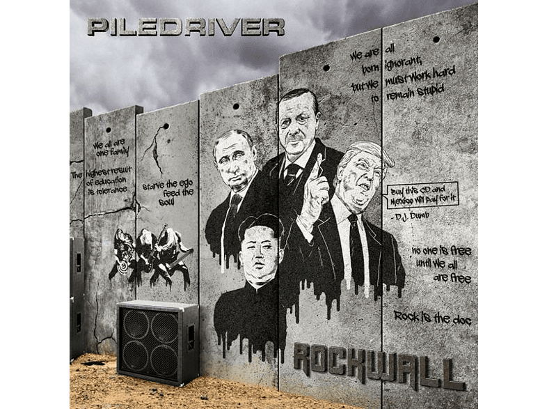 Piledriver - Rockwall [CD]