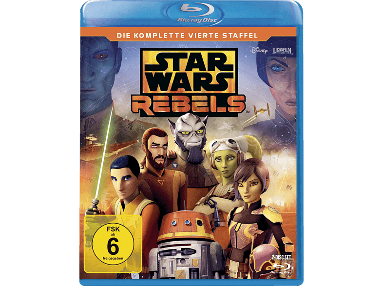 Star Wars Rebels - 4. Staffel [Blu-ray]