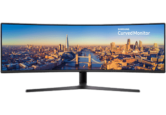 SAMSUNG C49J890DKU 144Hz 49'' Ívelt Dual Quad HD 32:9 LED Monitor