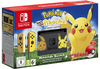 NINTENDO Switch Pokémon - Let's Go Pikachu! Edition