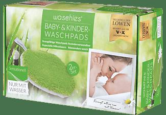 DIE HÖHLE DER LÖWEN Waschies Baby-Pads 2er-Set 15x 10.5 cm in Grün und Weiß