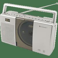 SOUNDMASTER 10537 CD-Radio (Silber)