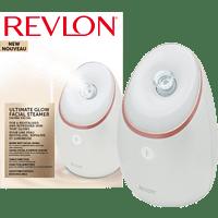 REVLON Ultimate Glow Gesichtssauna, Weiß