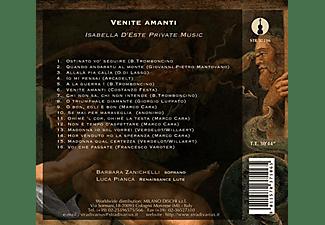 Barbara Zanichelli, Luca Pianca - Venite Amanti-Musik am Hofe der Isabella D'Este  - (CD)