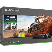 MICROSOFT Xbox One X 1TB Konsole – Forza Horizon 4 & Forza Motorsport 7 Bundle