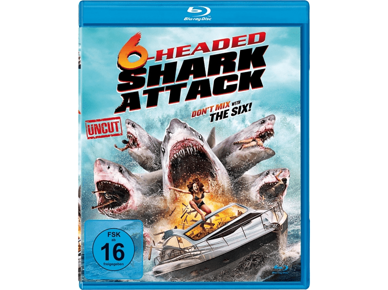 6-Headed Shark Attack - Don't mix with the Six! [Blu-ray]
