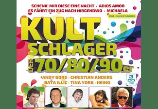 VARIOUS - Kultschlager der 70er,80er,90er  - (CD)