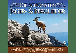 VARIOUS - Die schönsten Jäger-& Berglieder  - (CD)