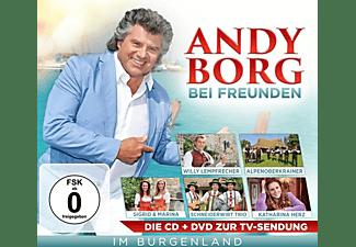 VARIOUS - ANDY BORG BEI FREUNDEN IM BURGENLAN  - (CD + DVD Video)