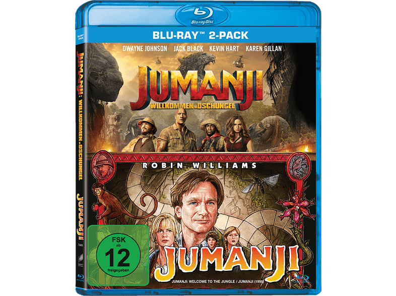 Jumanji: Willkommen im Dschungel & Jumanji - 2-Movie Collection [Blu-ray]
