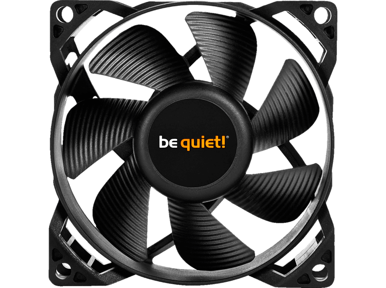 BE QUIET PURE WINGS 2 80mm PWM Lüfter, Schwarz