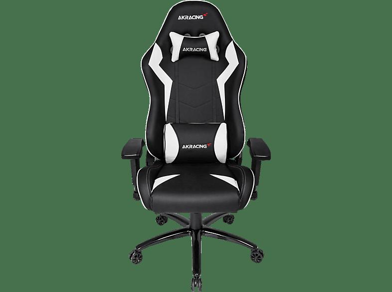 AKRACING CORE SX Gaming Stuhl, Schwarz/Weiß