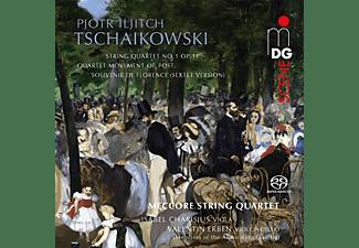 Meccore String Quartet/Charisius,I./Erben,V. - String Quartets - String Sextet  - (SACD Hybrid)