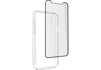 ZAGG InvisibleShield 360 Protection (Glass Curve + Case) Skärmskydd och Skal till iPhone XS Max