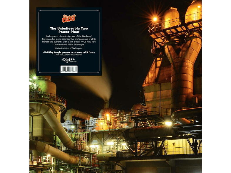 The Unbelieveable Two - Power Plant (Lim.Ed.) [Vinyl]