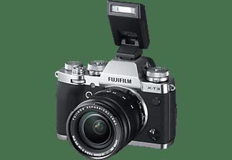 FUJIFILM Systemkamera X-T3 mit Objektiv XF 18-55mm f2.8-4.0 R LM OIS Silber