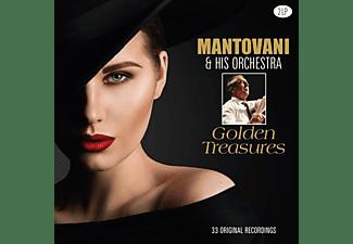 Mantovani & His Orchestra - Golden Treasures  - (Vinyl)
