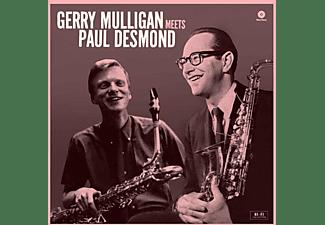 Gerry Mulligan - Gerry Mulligan Meets Paul Desmond+1 Bonus Track  - (Vinyl)
