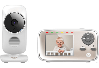 "MOTOROLA MBP-667 CONNECT WIFI BABY MONITOR + 2.8"" DISPLAY"