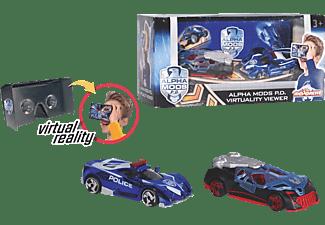 DICKIE TOYS Alpha Mods PD Virtuality Viewer + 2 Autos RC Spielzeugauto Mehrfarbig