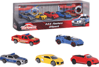 DICKIE TOYS S.O.S Flashers 5 Pieces Giftpack Spielzeugauto, Mehrfarbig