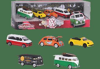 DICKIE TOYS Volkswagen 5 Pieces Giftpack Spielzeugauto Mehrfarbig