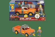 DICKIE TOYS Bob der Baumeister Action-Team Hubi + Bob Spielzeugauto, Mehrfarbig