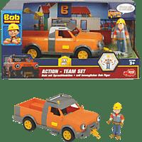 DICKIE TOYS Bob der Baumeister Action-Team Hubi + Bob Spielzeugauto