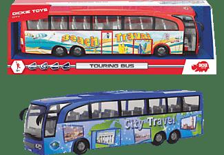 DICKIE TOYS Touring Bus, 2-sort. Spielzeugbus Rot/Blau