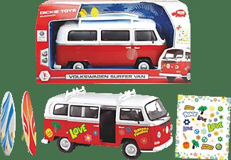 DICKIE TOYS Surfer Van Spielzeugauto Weiß/Rot
