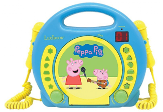 LEXIBOOK Tragbarer CD Player Peppa Pig (RCDK100PP)