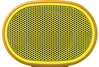 SONY SRS-XB01 Bluetooth Lautsprecher, Gelb, Wasserfest