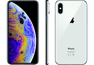 APPLE iPhone XS 256 GB, Silber