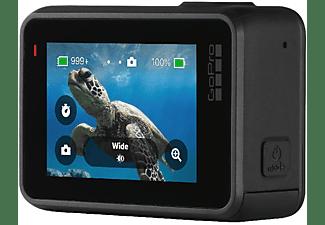 Cámara deportiva - GoPro HERO7 Black, Vídeo 4k60, 12MP, HyperSmooth, Wi-Fi, GPS, Bluetooth, Negro