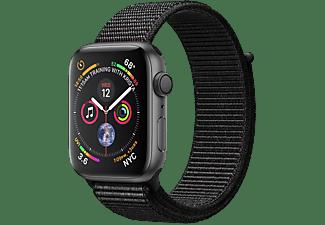 APPLE Watch Series 4 - Aluminium behuizing 44mm Space Gray - Loop sportbandje Black