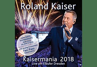 Roland Kaiser - Kaisermania 2018 (Live am Elbufer Dresden)- Das Konzert in voller Länge (Limited Edition)  - (CD)