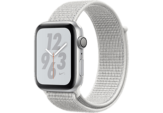 APPLE Watch Series 4 Nike+ - Aluminium behuizing 40mm Silver - Loop sportbandje Summite White Nike