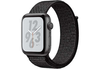 APPLE Watch Series 4 Nike+ - Boîtier aluminium 44mm Space Gray - Bracelet sport Loop Black Nike