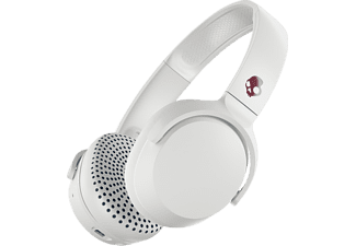 SKULLCANDY Riff - Casque Bluetooth (On-ear, Blanc/gris)