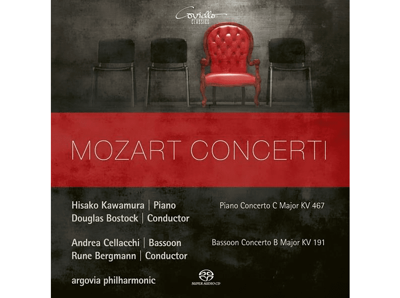 Kawamura/Cellacchi/Bostock/Bergmann/argovia philh. - Klavierkonzert C-Dur KV 467/Fagottkonzert B-Dur [SACD Hybrid]