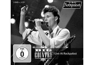 Big Country - Live At Rockpalast - (CD + DVD Video)