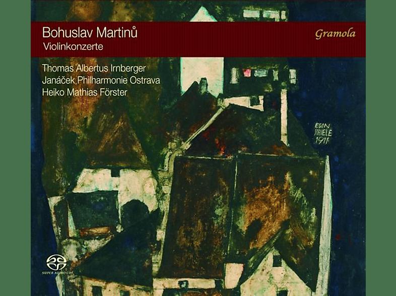 Irnberger/ Förster/ Janacek Philharmonie Ostrava - Violinkonzerte [SACD Hybrid]