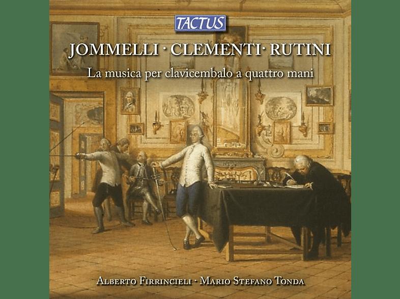 Firrincieli,Alberto/Tonda,Mario Stefano - La musica per clavicembalo a quattro mani [CD]